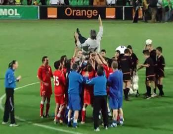 Новый Регион: Рыбницкая ''Искра-Сталь'' впервые в своей истории стала обладателем Кубка Молдавии по футболу