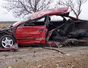 Новый Регион: В Приднестровье нетрезвый водитель чудом остался жив после столкновения его автомобиля с деревом (ФОТО)
