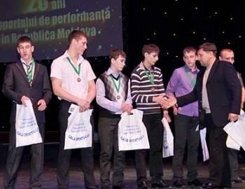 Новый Регион: Приднестровские спортсмены стали номинантами церемонии Gala sportului-2011, прошедшей в Кишиневе