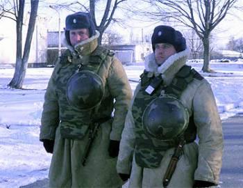 Новый Регион: Российских военных в Приднестровье одели в полушубки и валенки (ФОТО)