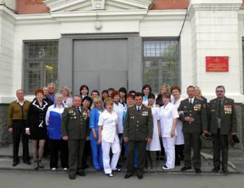 Новый Регион: Командование ОГРВ поздравило коллектив российского военного госпиталя в Тирасполе с 70-летием учреждения