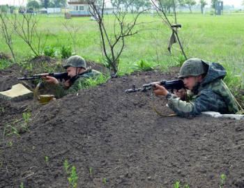 Новый Регион: Объединенная группа российских войск в Приднестровье провела ротно-тактические учения для молодого пополнения (ФОТО)