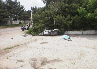 Новый Регион: В Слободзее в результате ДТП погиб мотоциклист (ФОТО)
