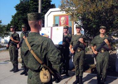Новый Регион: Новобранцы ОГРВ в Приднестровье приняли военную присягу (ФОТО)