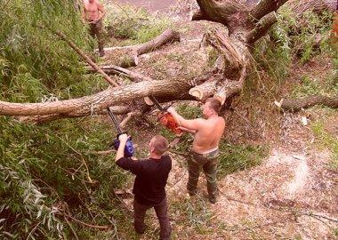 Новый Регион: Ураган нанес существенный урон Каменскому району Приднестровья (ФОТО)