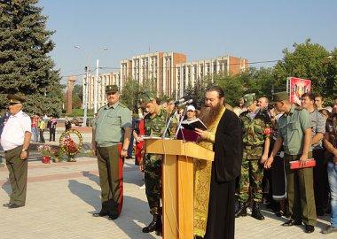 Новый Регион: Курсанты Военного института Приднестровья приняли присягу (ФОТО)