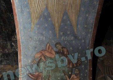 Новый Регион: В румынской церкви обнаружены старинные фрески с изображением конца света (ФОТО)